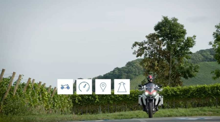 Bosch motorcycle to vehicle communication Types