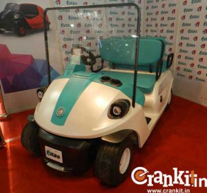 Evano Golf-Kart front view