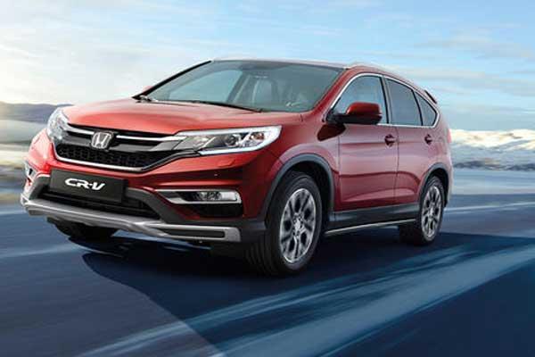 Honda nomenclature: Honda CRV