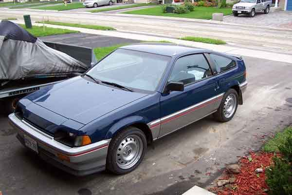 Honda nomenclature: 1st Generation Honda CRX (Courtesy: cardomain.com)