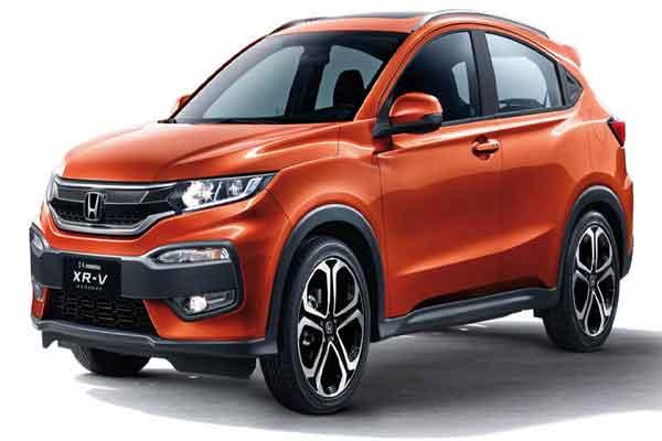 Honda nomenclature: Honda XRV