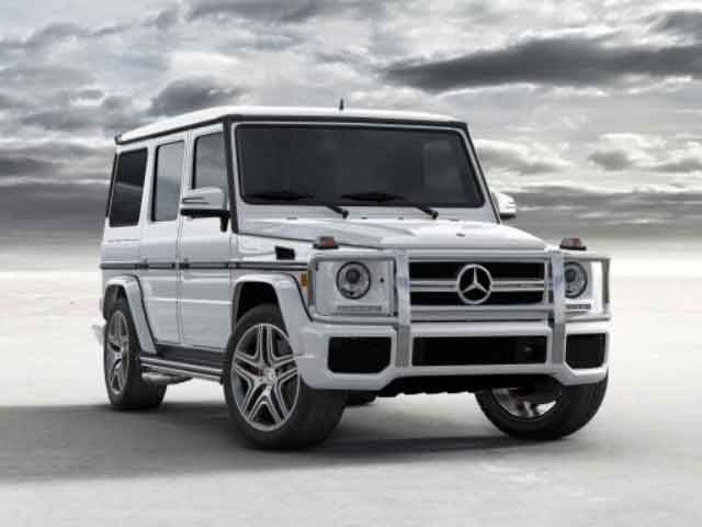 Mercedes-Benz G-class (Courtesy: Mercedes-Benz)