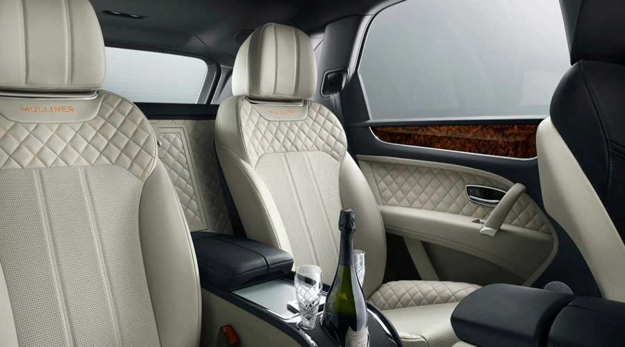 Most expensive SUV Bentayga Mulliner Bottle Cooler