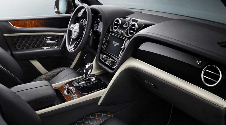 Most expensive SUV Bentayga Mulliner Interiors
