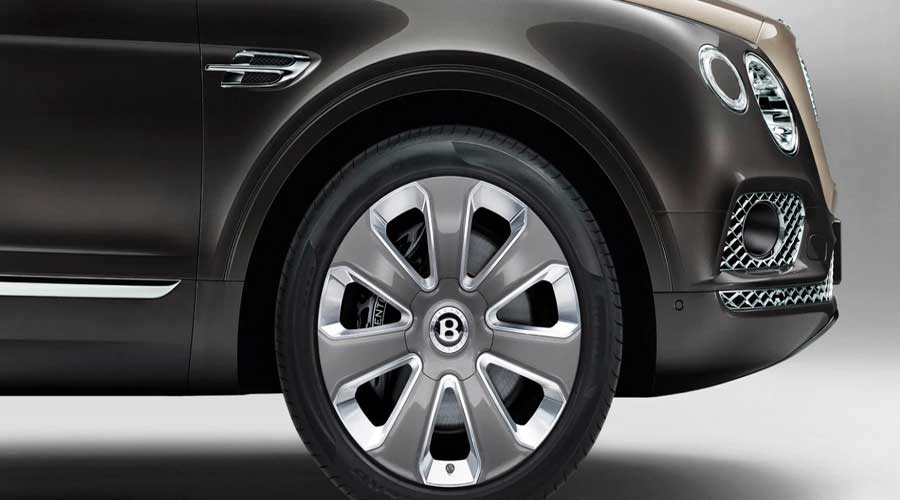 Most expensive SUV Bentayga Mulliner Wheels
