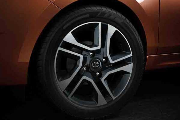 Tata Tigor alloy wheels
