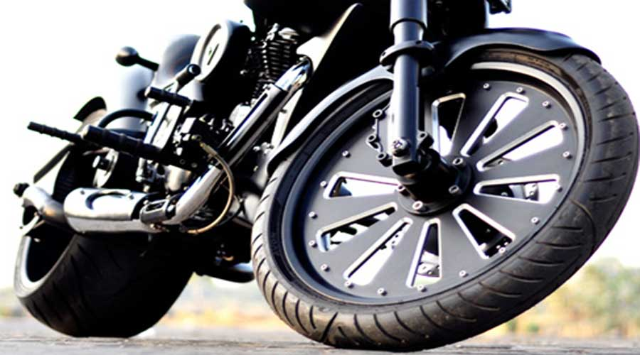 Vardenchi custom motorcycle Alloy Wheel