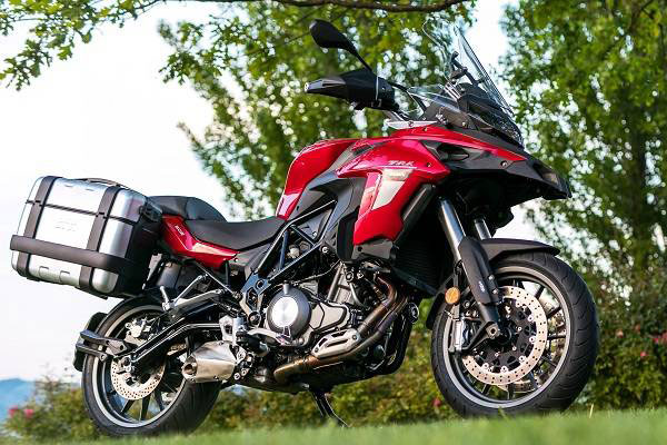 Adventure Tourer: DSK Benelli TRK 502 (Photo: Benelli)