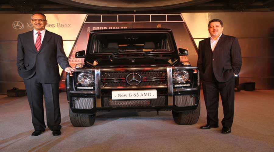 Mercedes Benz AMG G 63 Launch