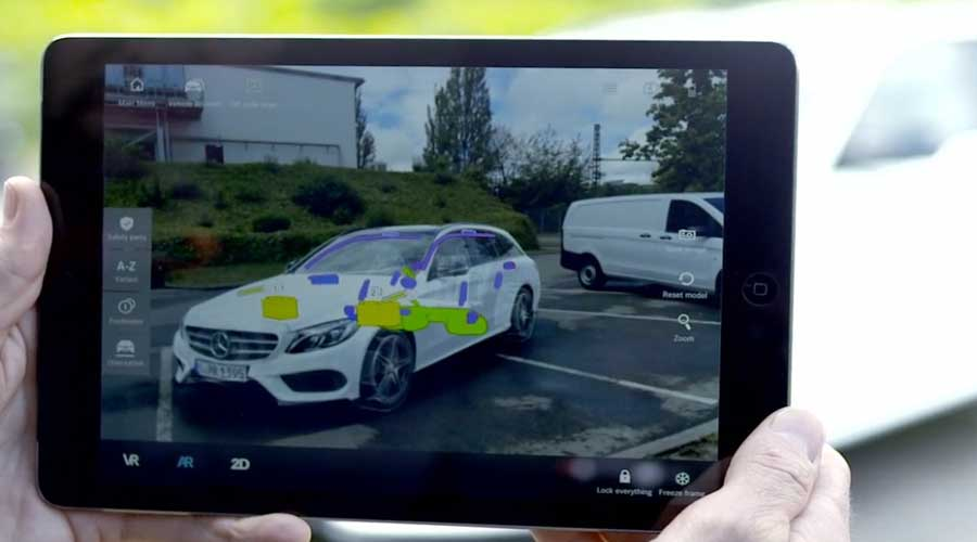 Digital Rescue Assistance Augmented Reality Interface