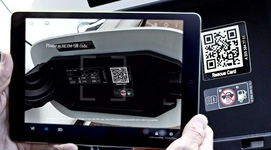 Digital Rescue Assistance QR Code Scanner