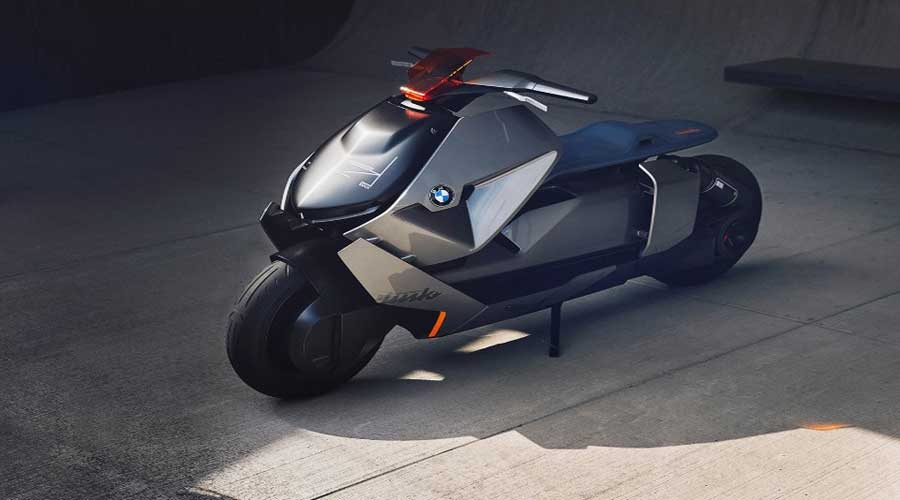 BMW Motorrad concept link sideview