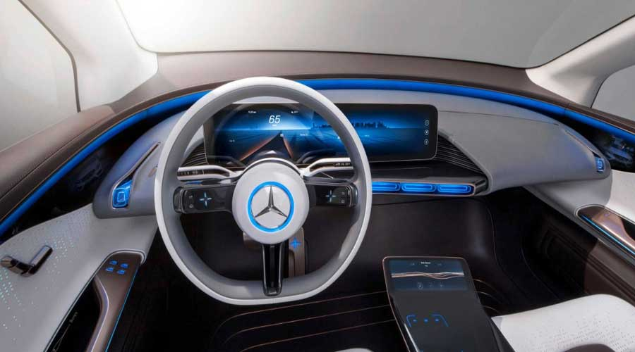 Mercedes Benz concept EQ interiors