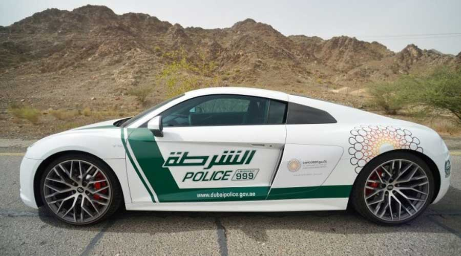 Fastest police car in the world is now in Dubai - CarBikeTech