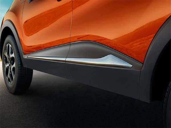 Renault Captur chrome