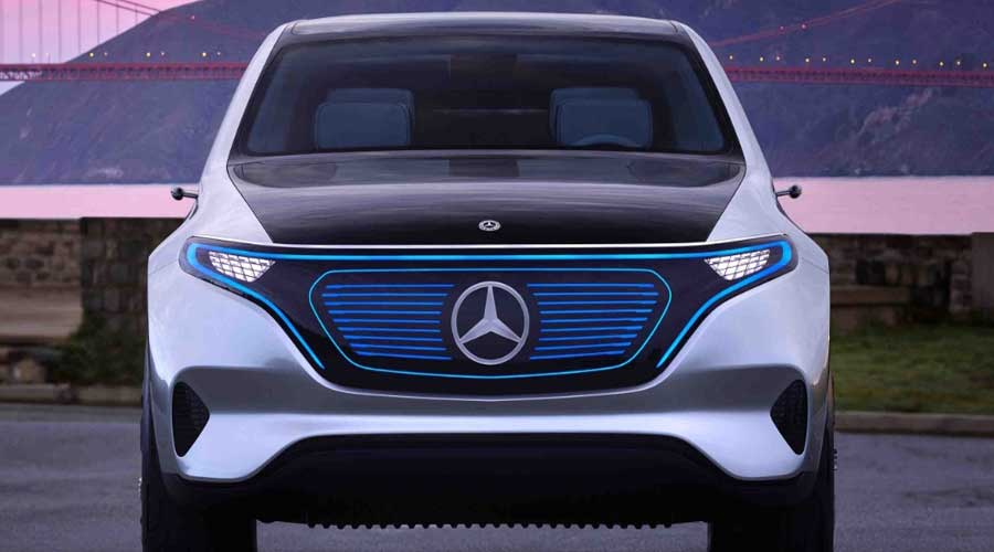 Mercedes benz concept eq the electric mobility redefined for New electric mercedes benz