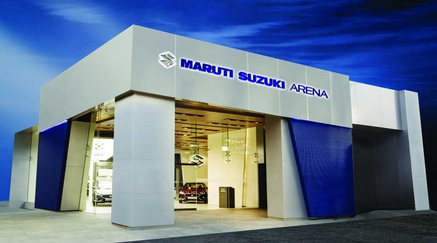 Maruti Suzuki Arena Dealership Exterior