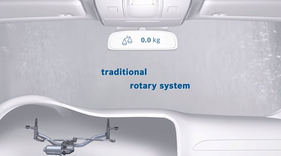 Traditional wiper system