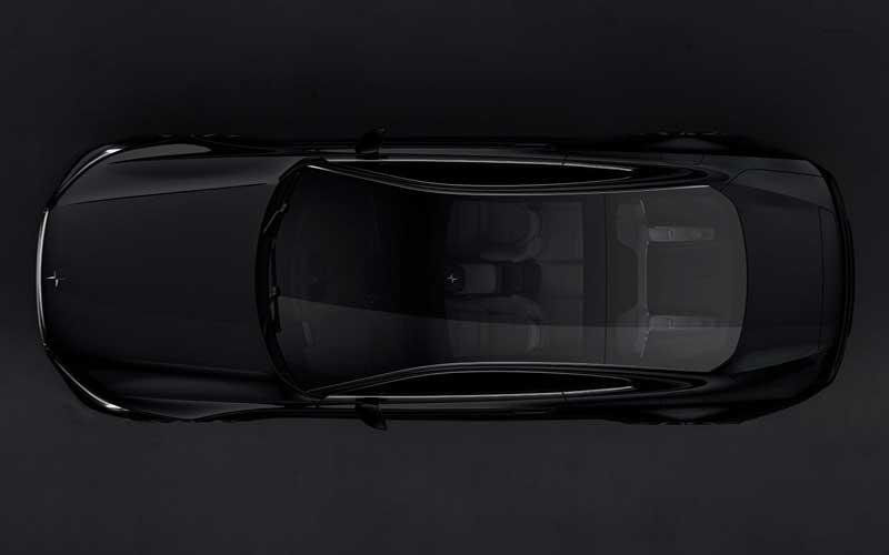 Volvo polestar 1 Top View