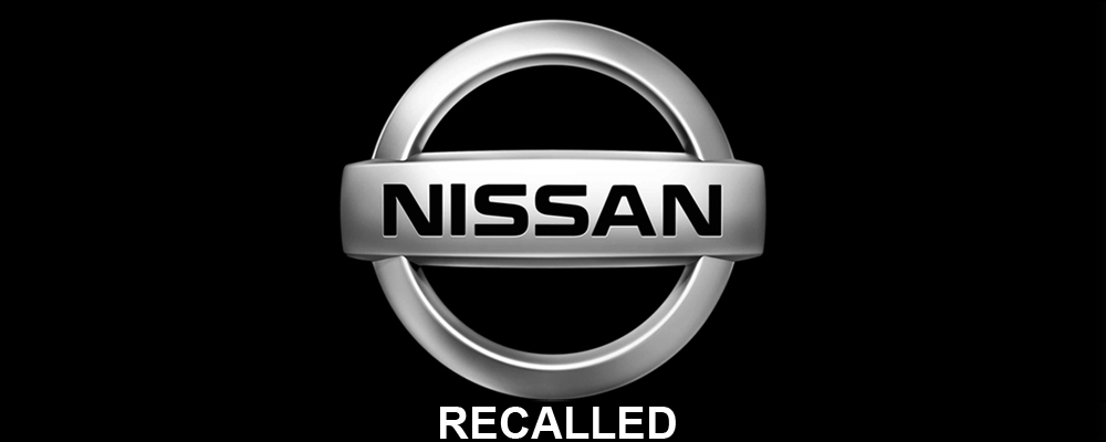 Nissan Recalls one million vehicles