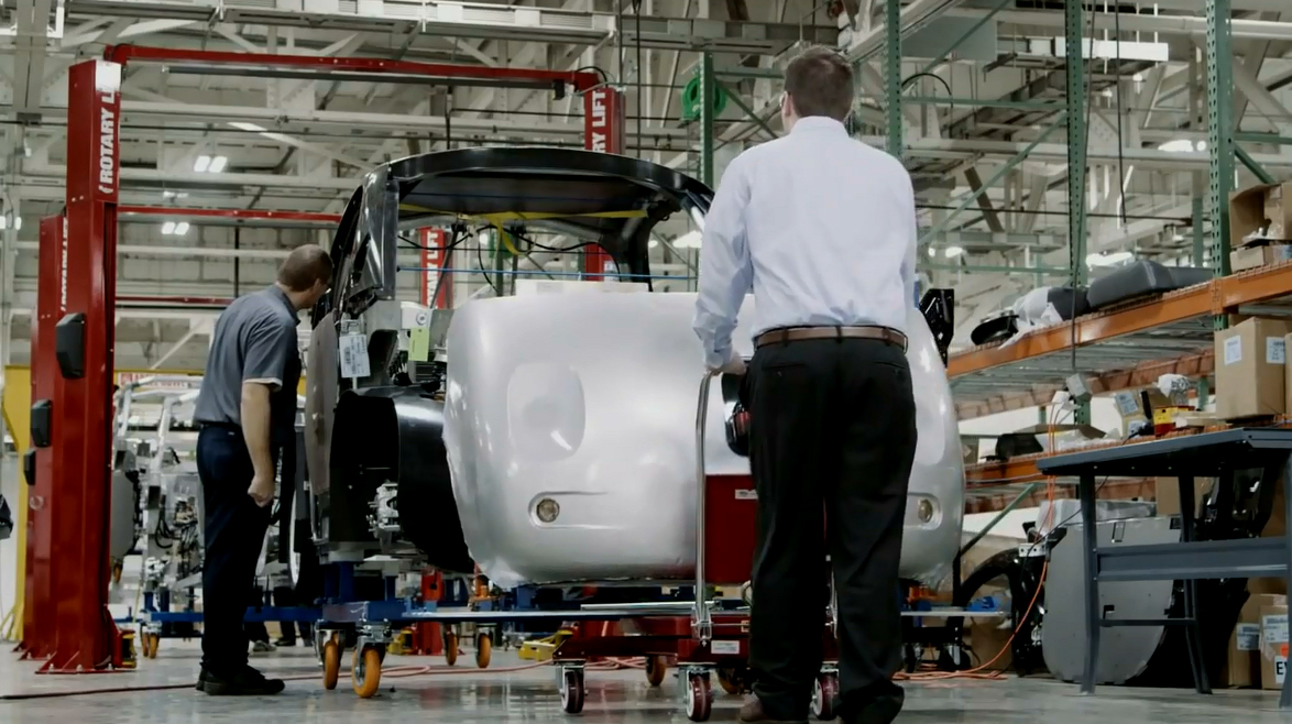 Google car: In the making (Courtesy- Google Inc.)