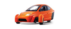Elio three-wheeler