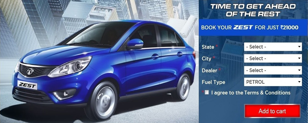 Tata Zest (Photo Courtesy: Tata Motors)