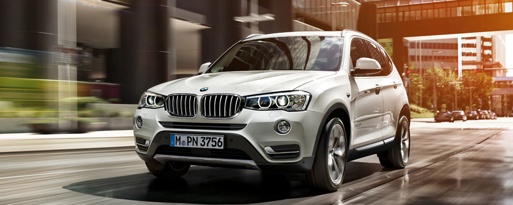 All new BMW-X3