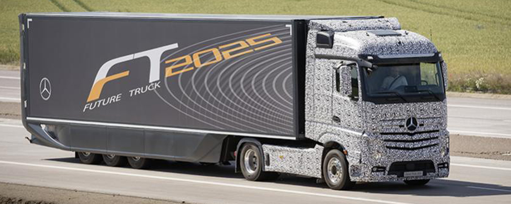 Self-driving Truck or the Future Truck 2025