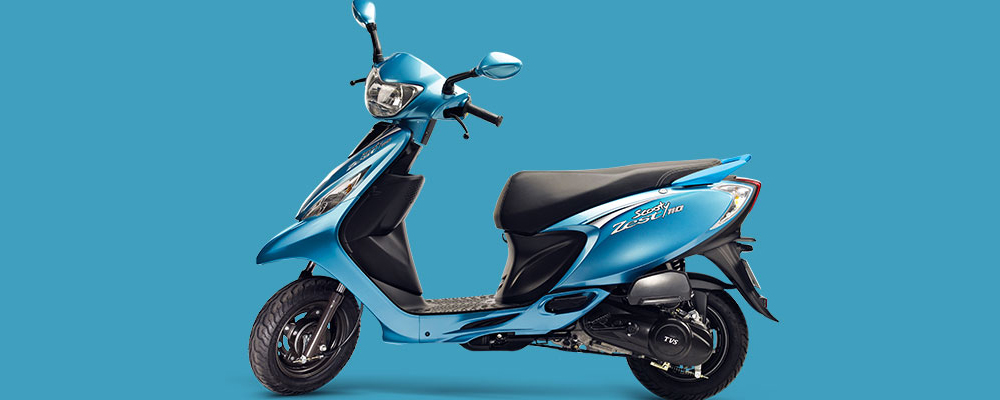 TVS Scooty Zest ( Photo Courtesy: TVS Motors)