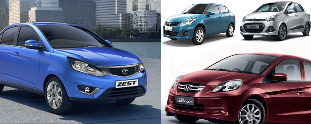 Compared Tata Zest Vs The Rest (Petrol)