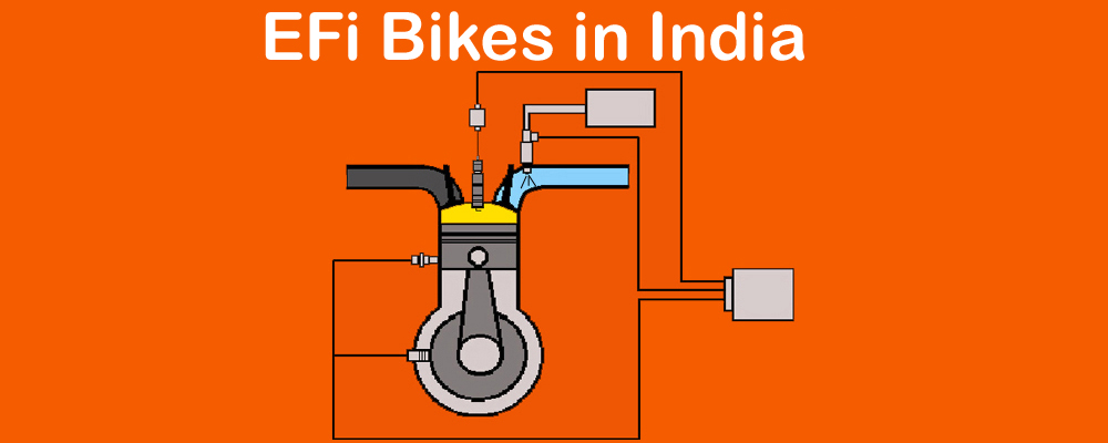 EFi - Electronic Fuel Injection: EFi Bikes available in