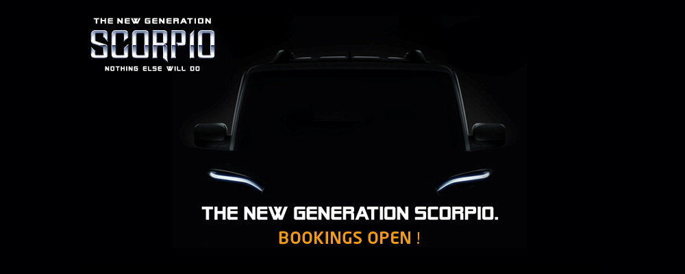Mahindra Scorpio teaser (Photo Courtesy: Mahindra, Snapdeal)