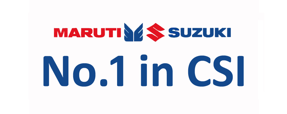 Maruti Suzuki Tops JD Power CSI