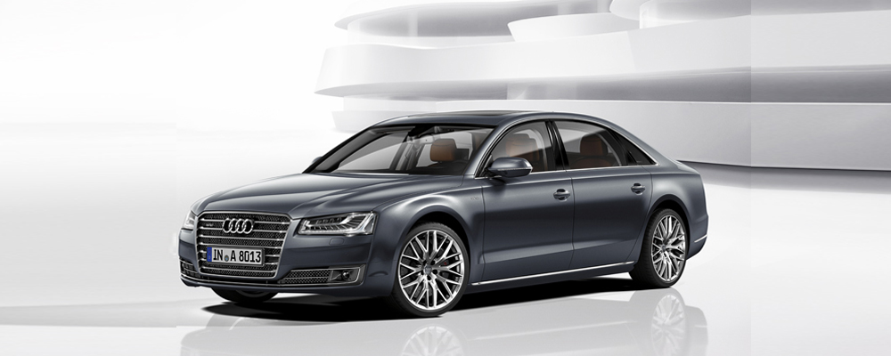 Audi A8L (Photo courtesy: Audi)
