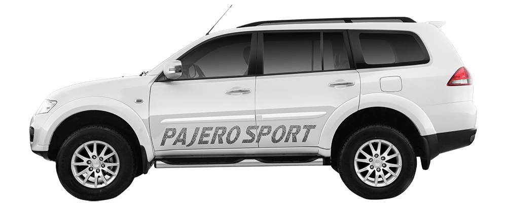 Mitsubishi Pajero Sport AT (Photo Courtesy: Mitsubishi)