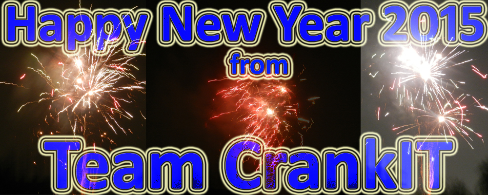 Happy New Year 2015 from Team Crankit