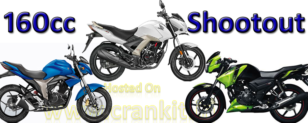 Compared: Suzuki Gixxer vs Honda CB Unicorn 160 vs TVS Apache RTR 160