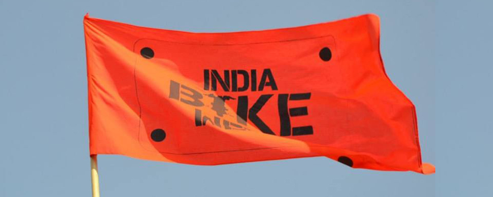IBW Flag (Courtesy: India Bike Week)