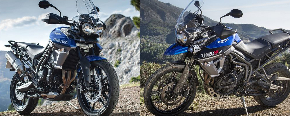 Triumph Tiger 800 XCx & XRx (photo Courtesy: Triumph)