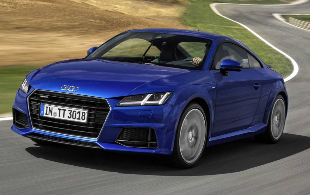 Audi TT Coupe 2015 (Courtesy: Audi)