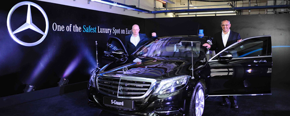 Mercedes S600 Guard (Photo Courtesy: MB India)