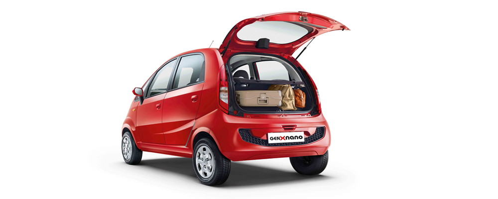 Tata Nano GenX (All Images Courtesy: Tata Motors)