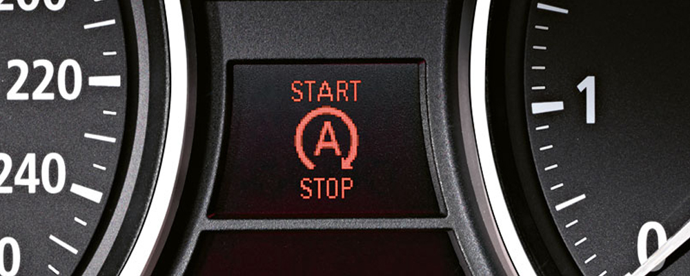 Auto Start Stop (Image courtesy: BMW)