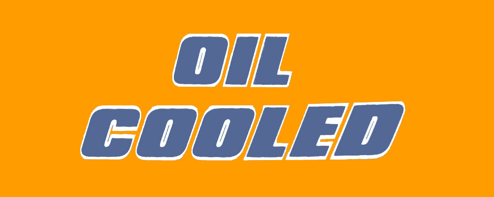 Oil cooled engine