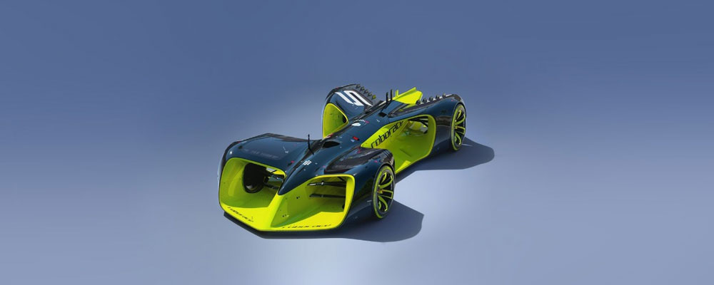 Driverless racing car