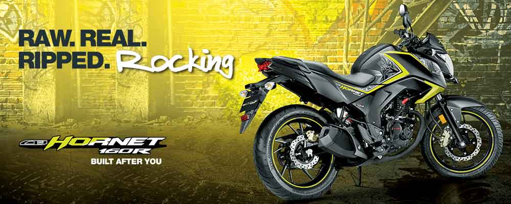 Honda CB Hornet 160R (Image courtesy: Honda India)