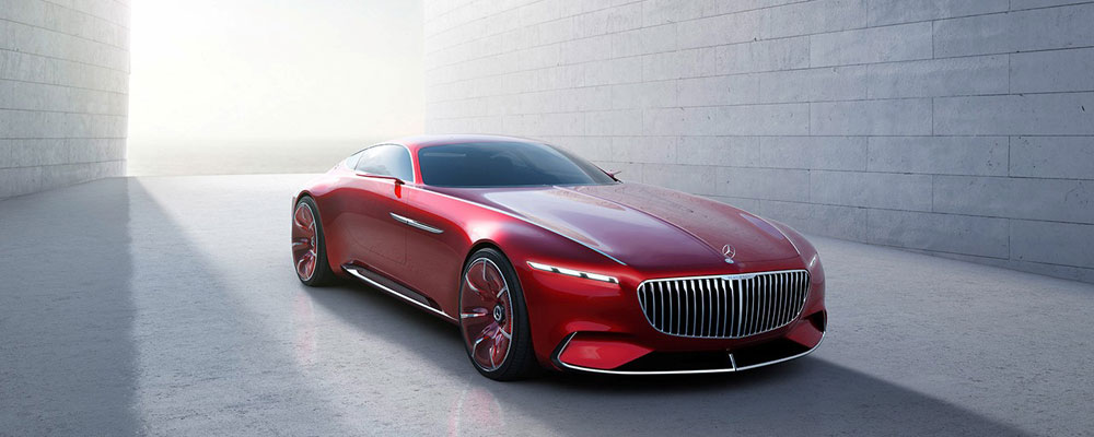 Vision Mercedes Maybach 6