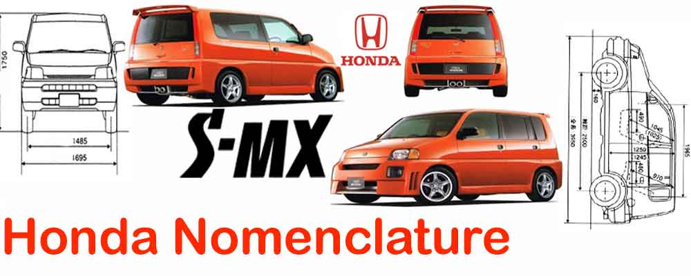 Honda Nomenclature decoded
