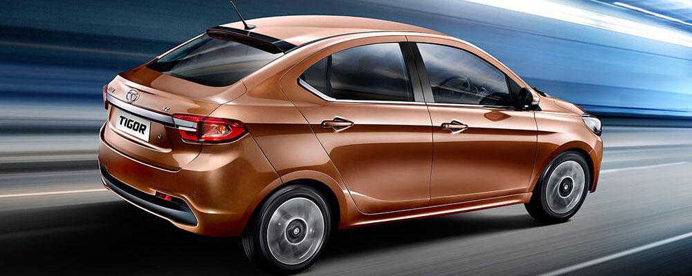 Tata Tigor side profile